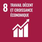 Objectifs de Développement Durable, ODD 8 : Travail décent et croissance économique