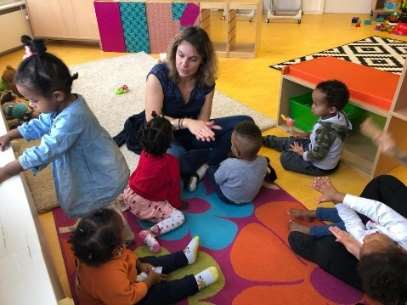 COS garde d'enfants, parents migrants